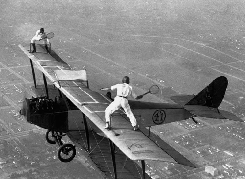 They don't make daredevils like they used to.