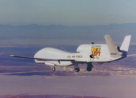 TWICE A SPY paperback art on the new Air Force RQ-195. Here's hoping the RQ-195 will be declassified soon.