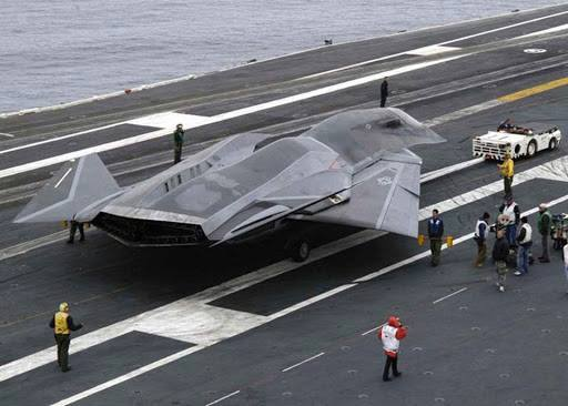 fictitious plane from movie  Stealth