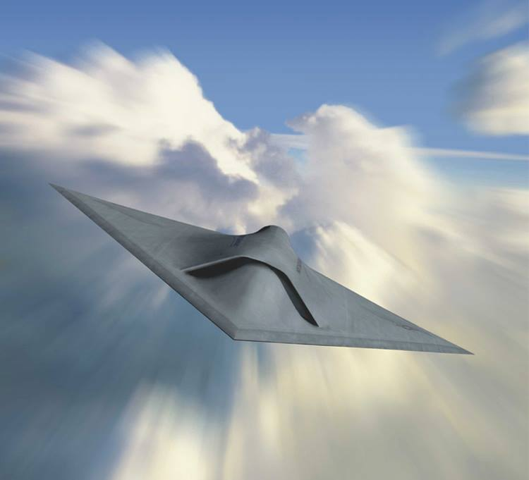 X-47A unmanned combat aerial vehicle