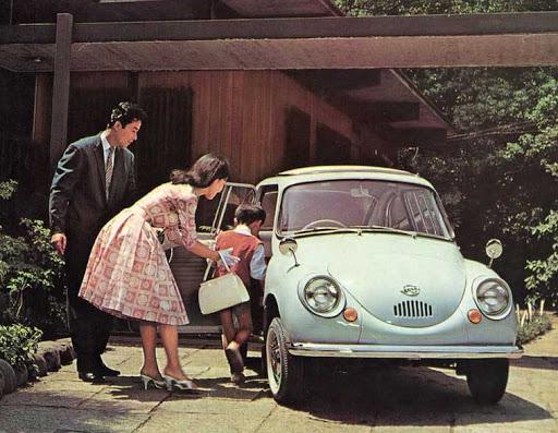 Subaru 360  a.k.a. the Ladybug