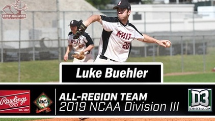 Luke Buehler Baseball Honors