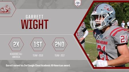 Garrett Earns Academic All-American