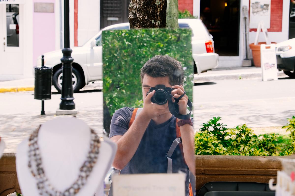 Jonathan Grado Mirror Self Portrait 1 San Juan