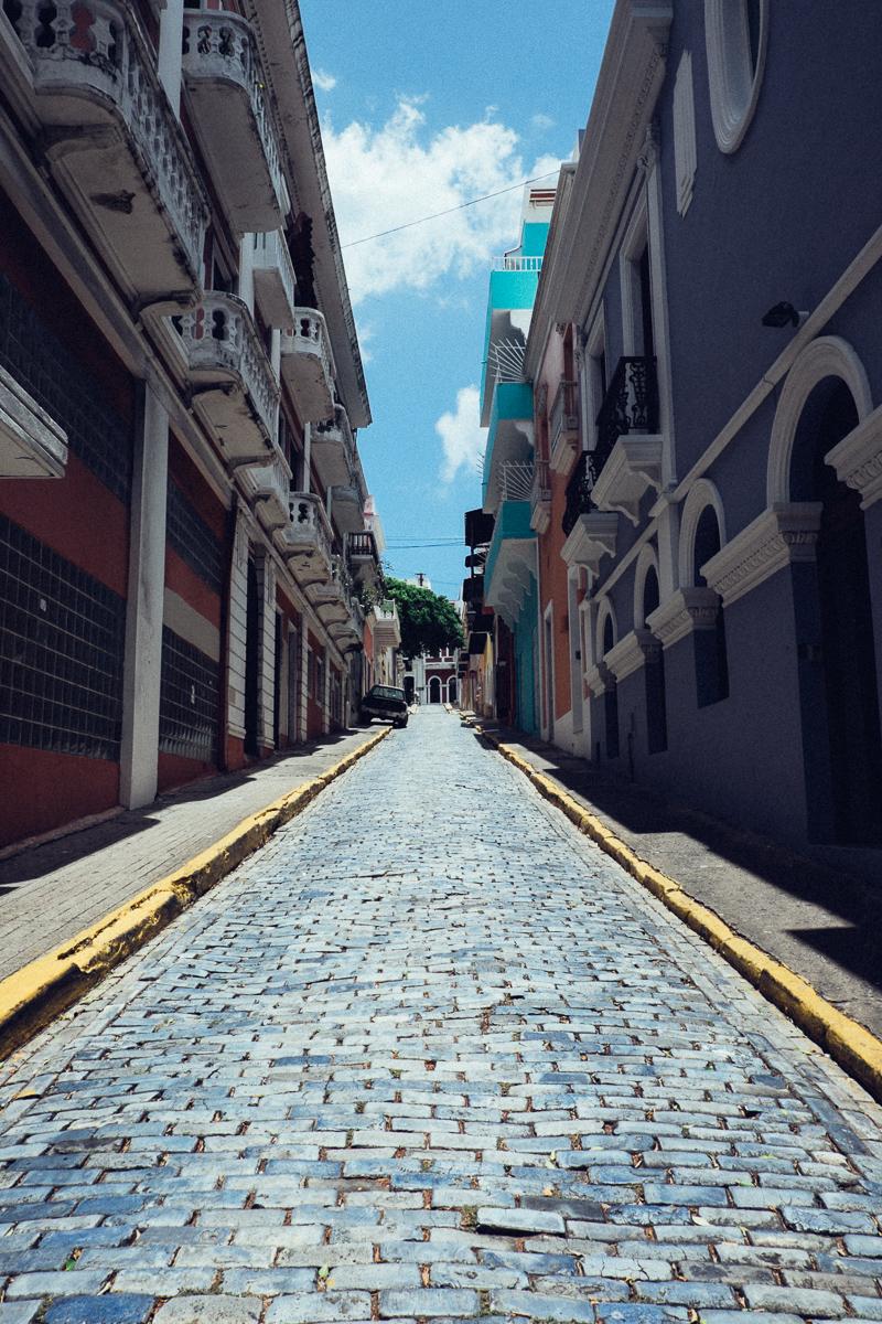 Narrow Street 1 San Juan