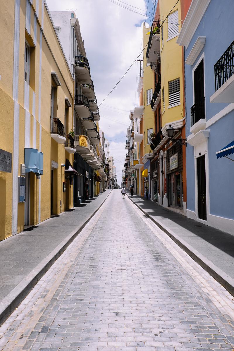 Narrow Street 2 San Juan