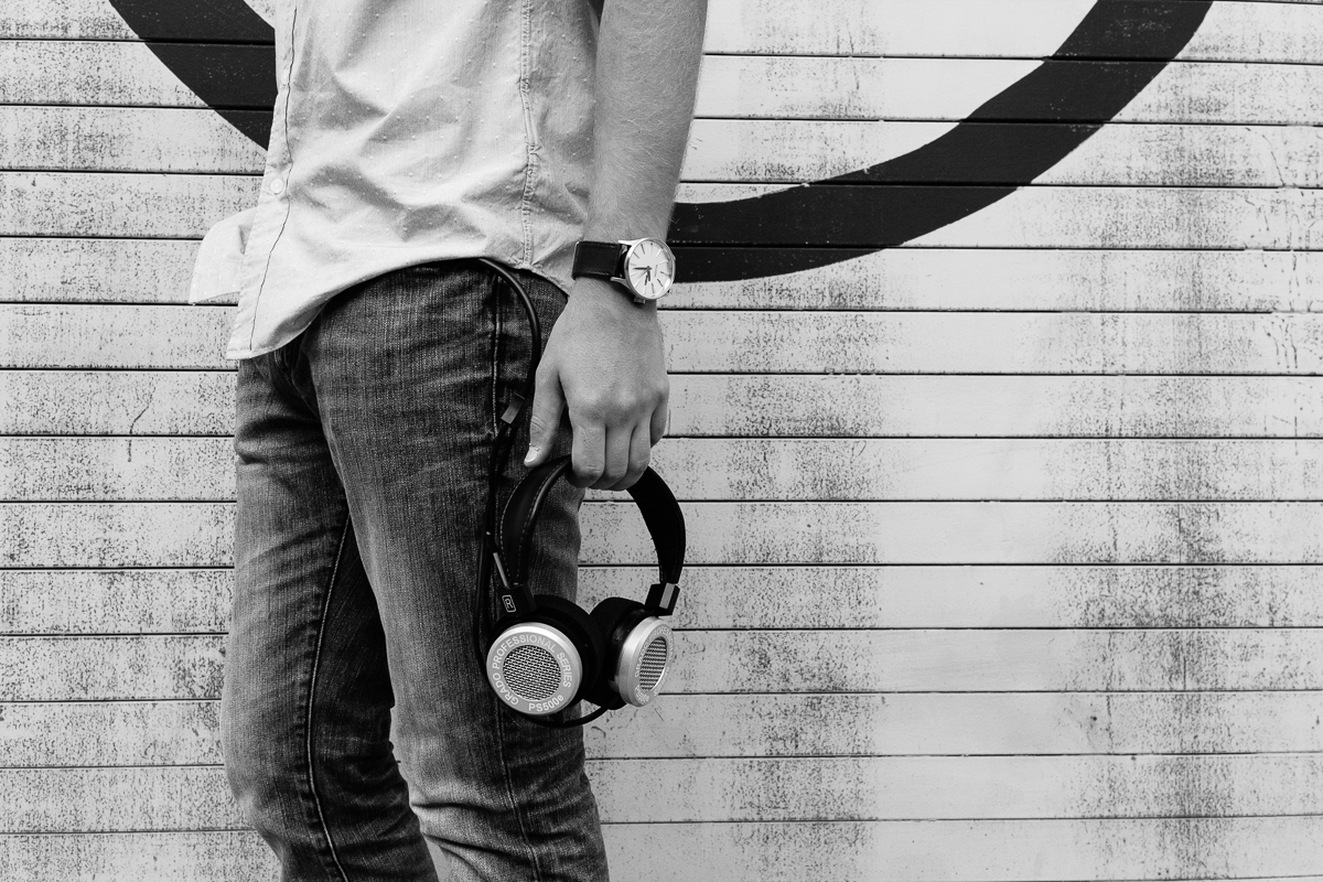 Jonathan Grado OK Yellow Grado Headphones Shoot
