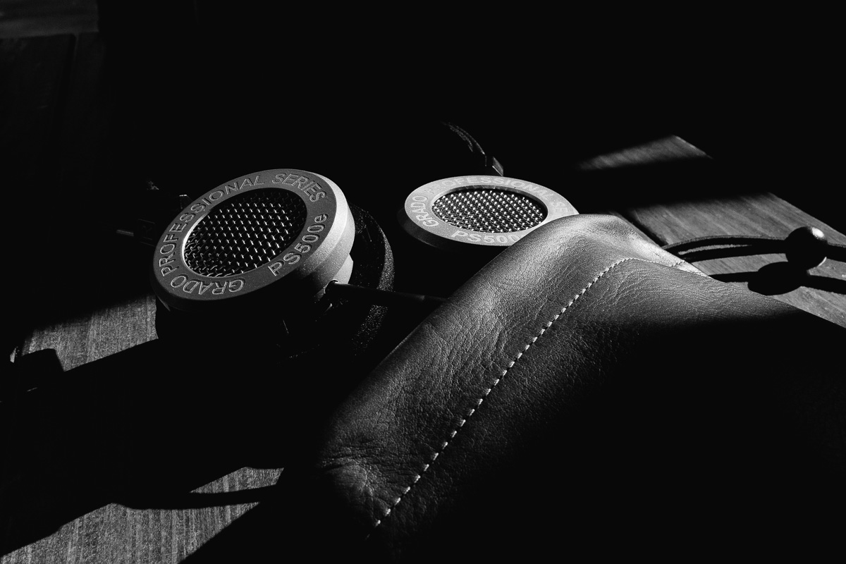 Grado PS500e with This Is Ground Leather Tomo