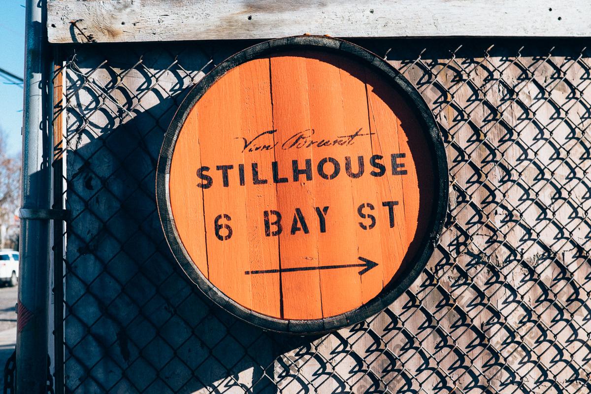 Red Hook Barrel Sign