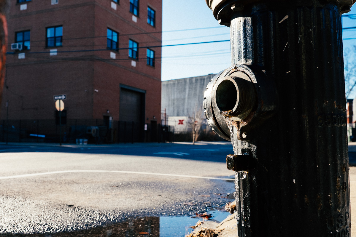Red Hook Hydrant