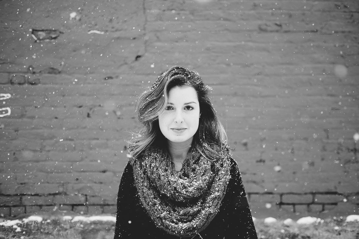 Tia Meyers Williamsburg Snow 2015