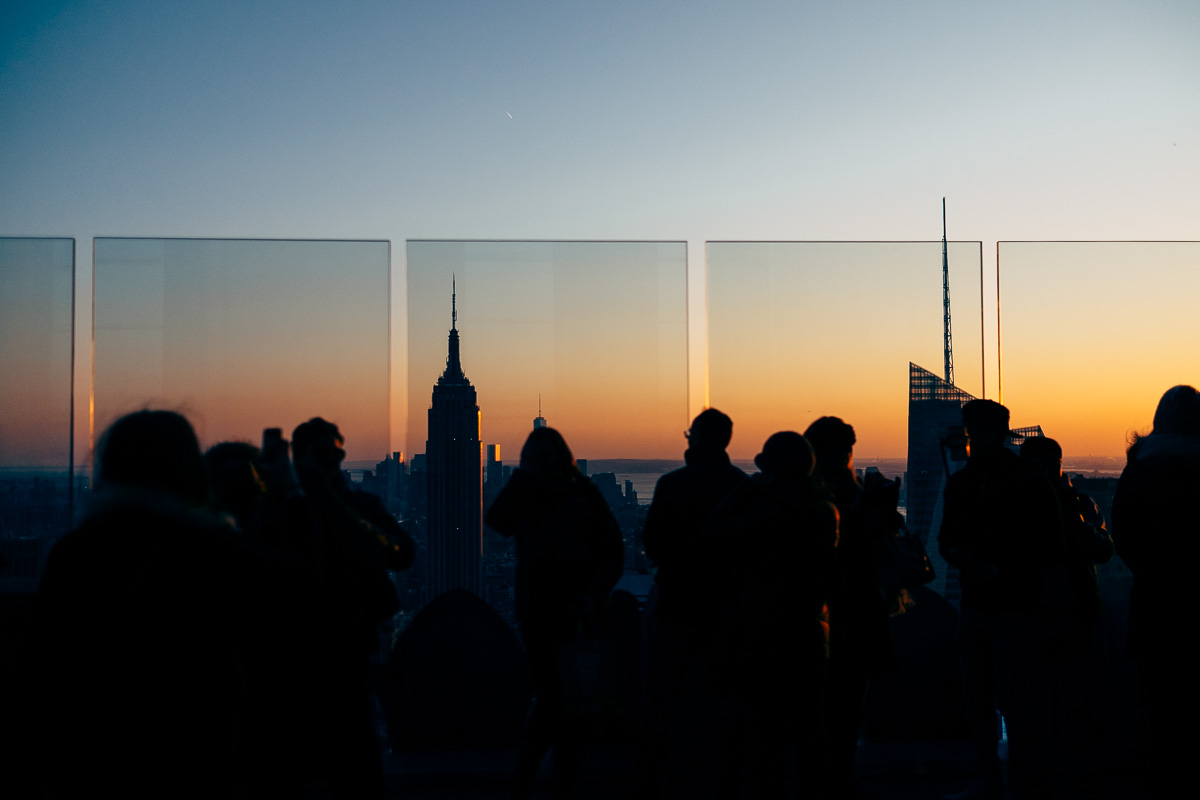 Top of the Rock NYC Shoot