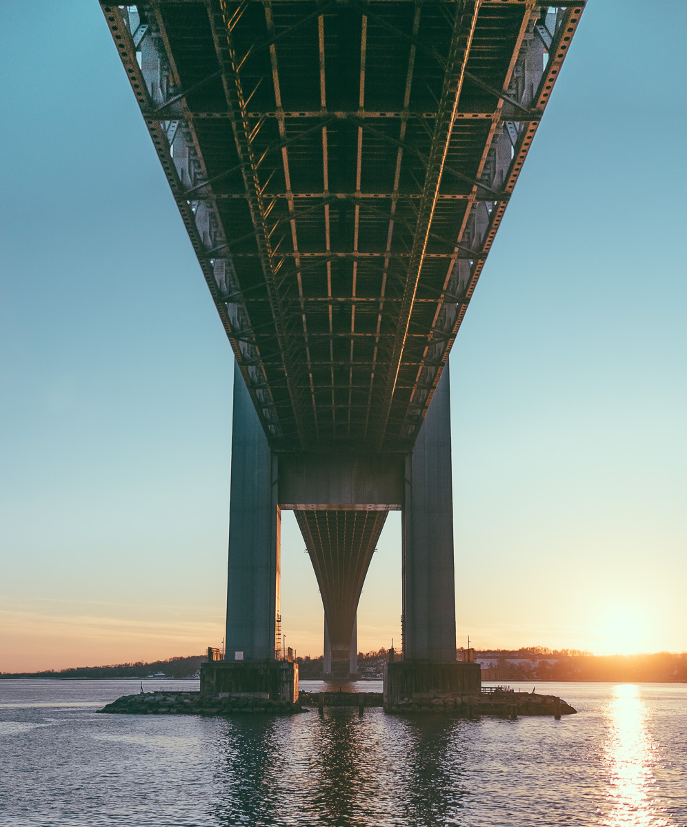 Verrazano Bridge at Sunset