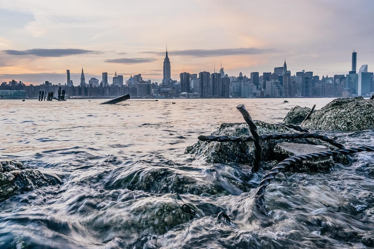 Rusted Water in Williamsburg Brooklyn