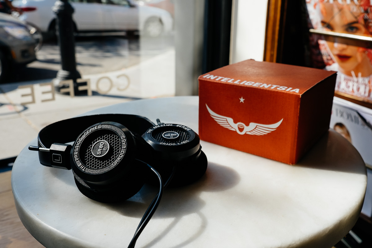 Grado SR80e and Intelligentsia Coffee