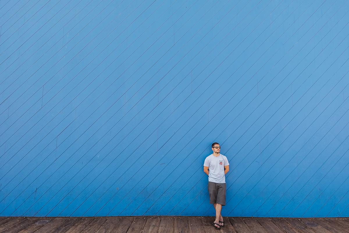 Andrew Kalicki Santa Monica Pier Wall