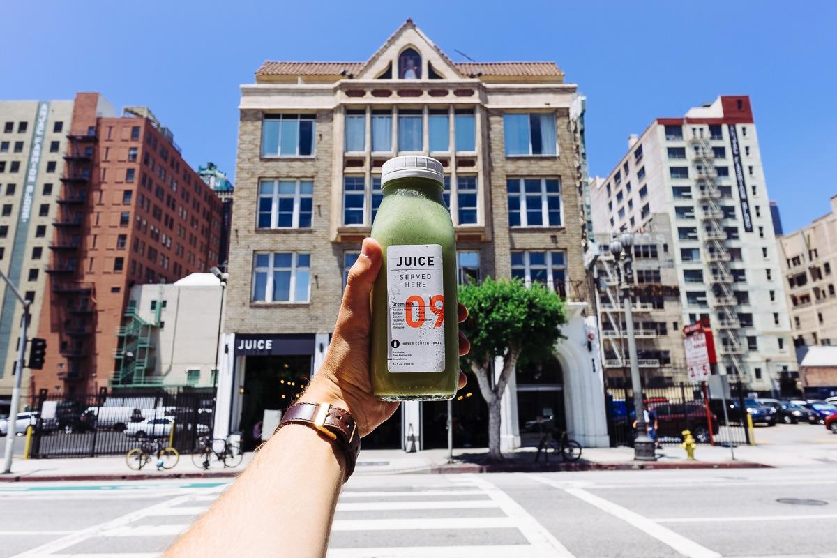 Los Angeles Verve Coffee Juice
