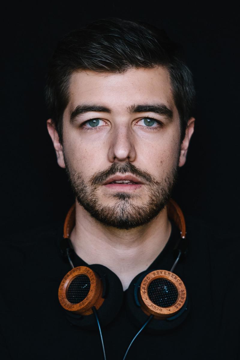 Jonathan Grado Self Portrait with Grado RS2e