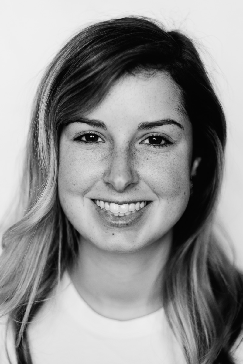 Tia Meyers Black and White Portrait