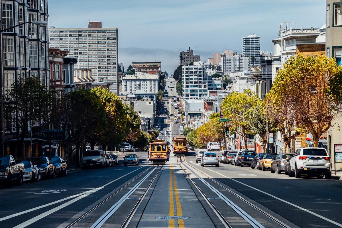 San Francisco California Avenue