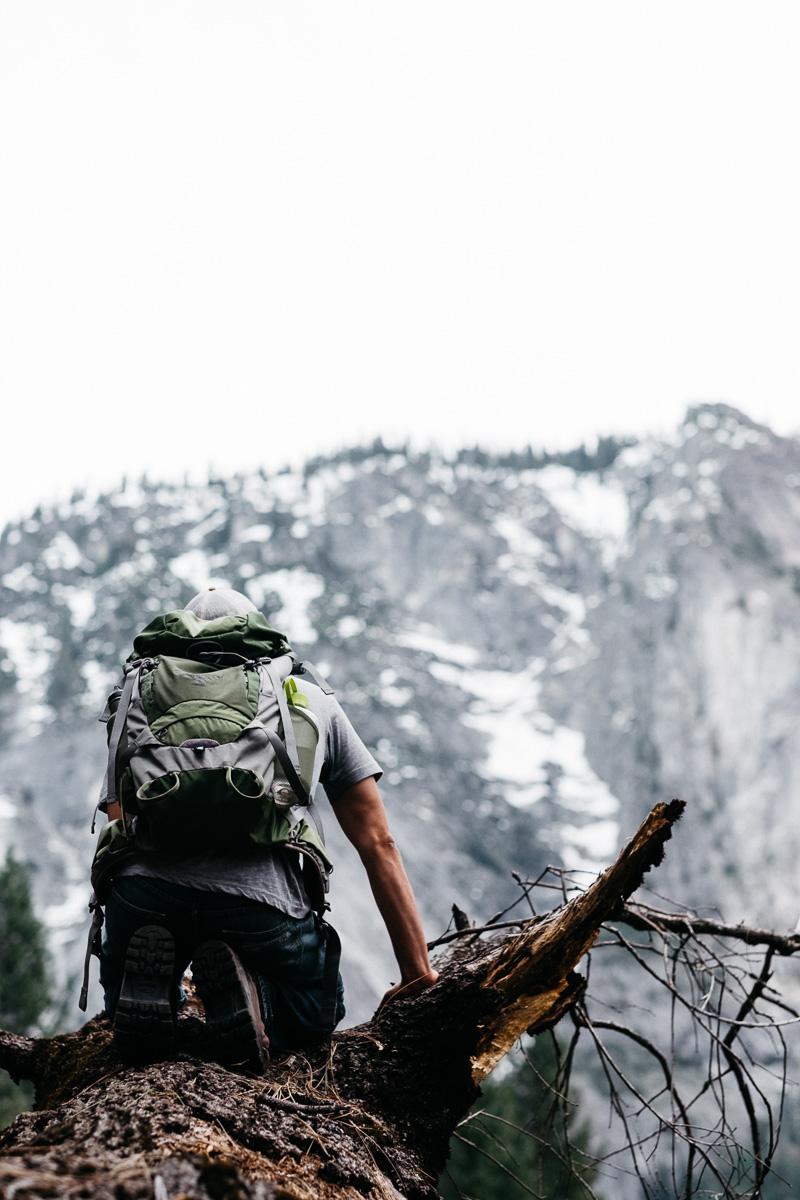 Moreo Rivera at Yosemite Valley Climbing
