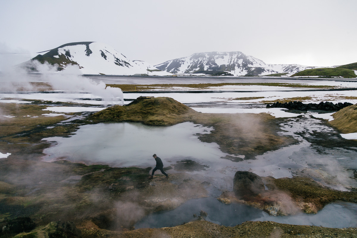 Jonathan Grado in Iceland