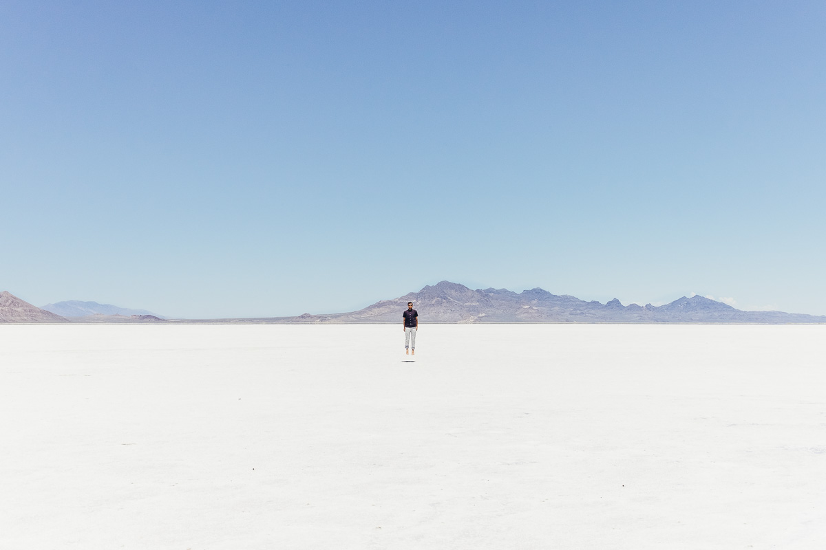 Copy of Jonathan Grado at Bonneville Salt Flats