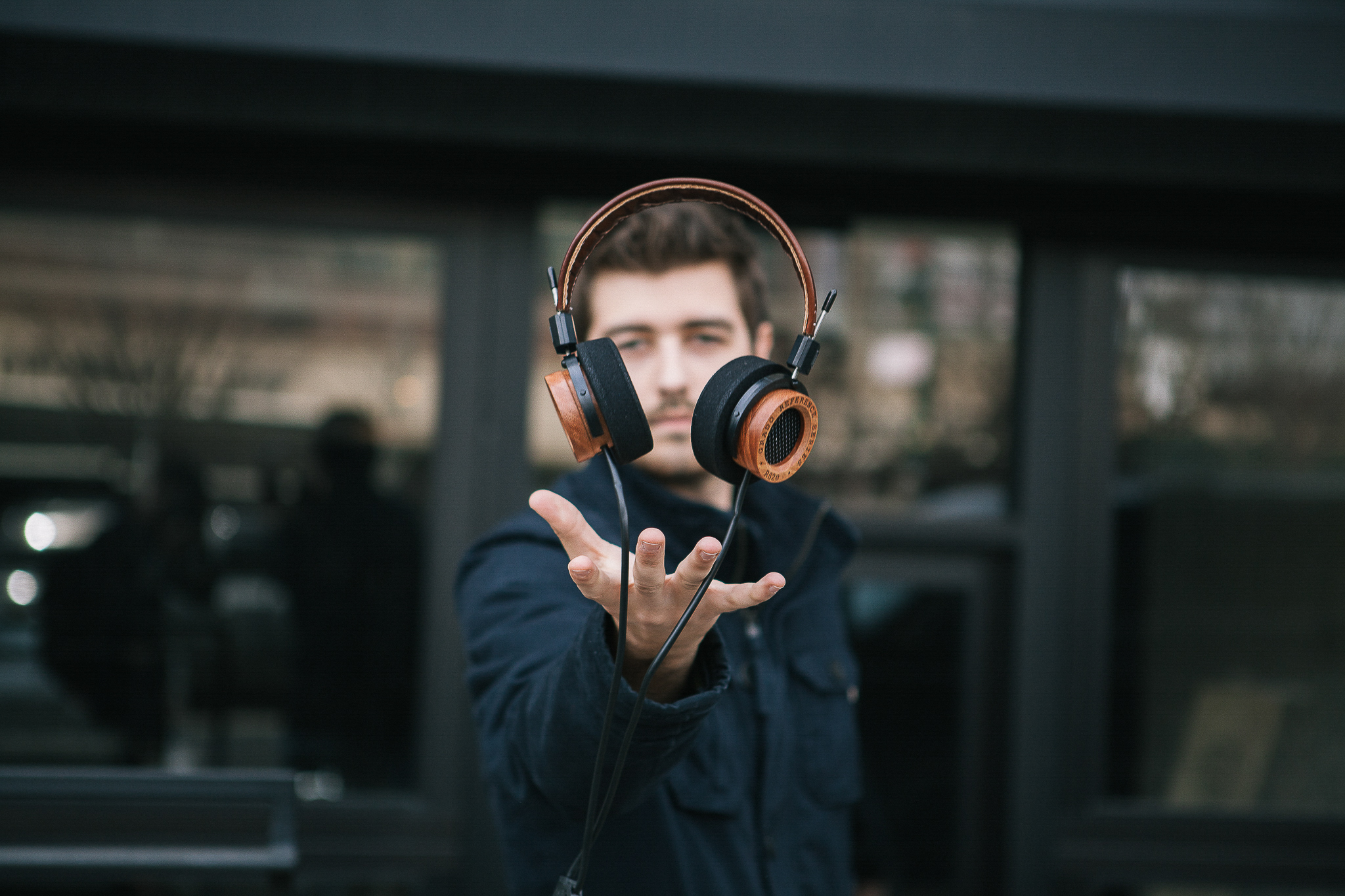 Copy of Jonathan Grado Levitaing Grado Headphones
