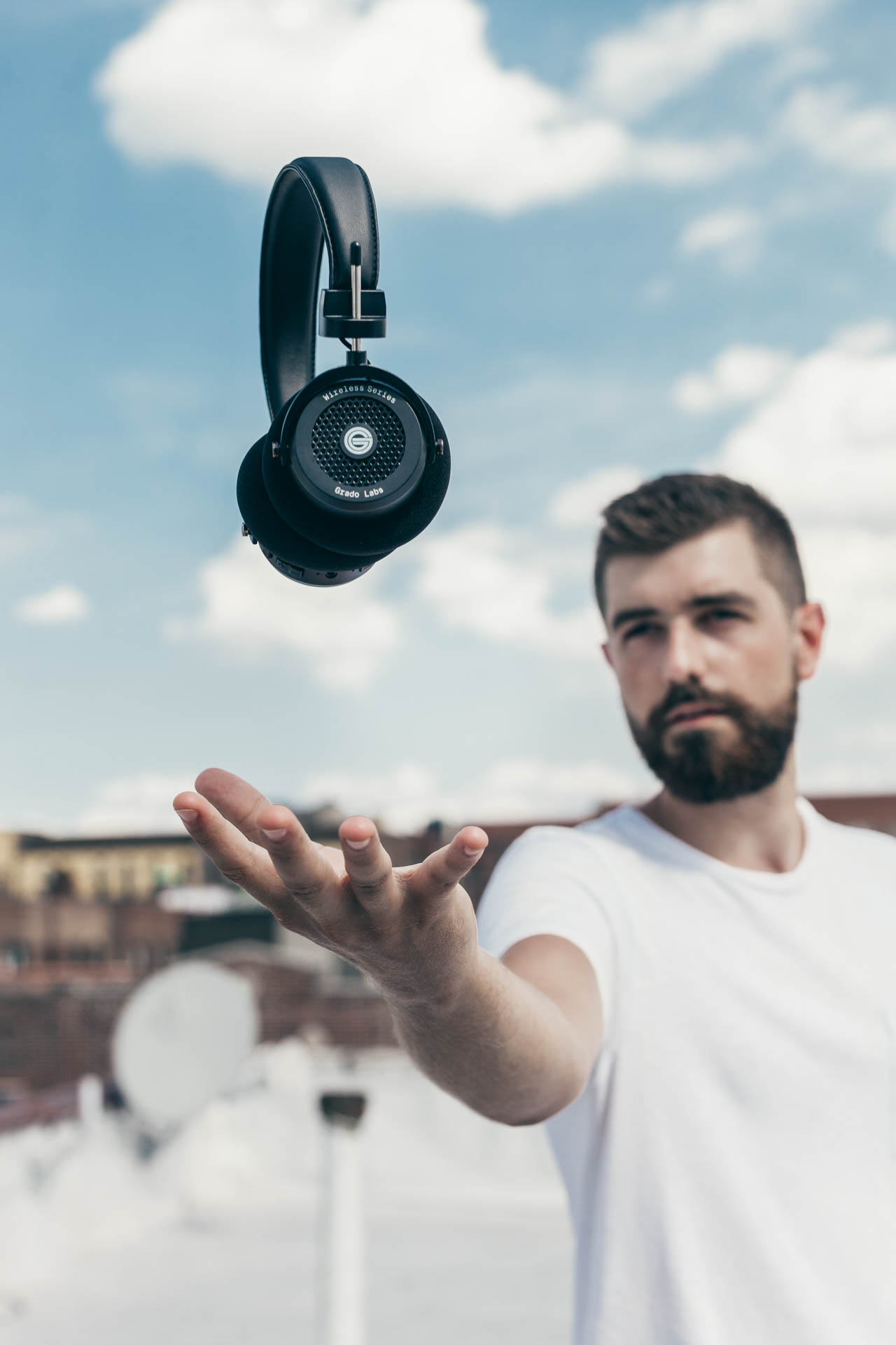 Copy of Levitating Wireless Grado GW100 Headphones by Erick Urgiles