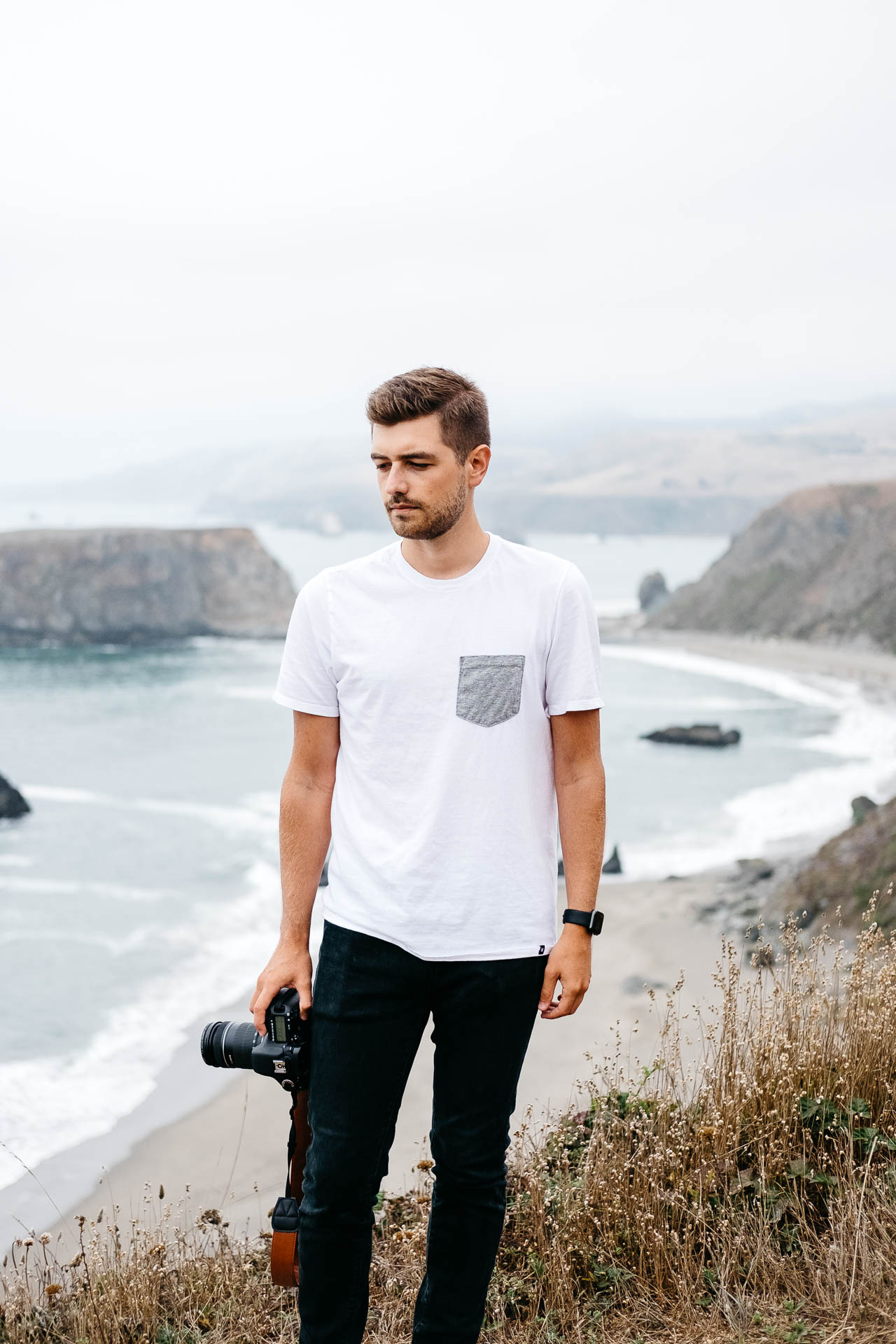 Jonathan Grado Portrait at Goat Rock Beach