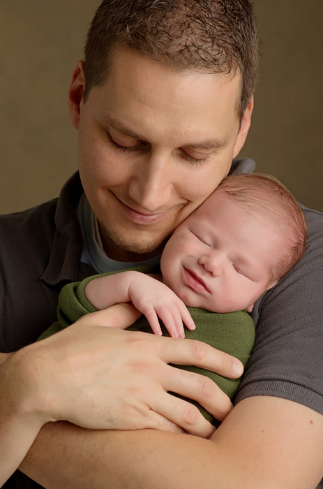 father son natural newborn photography