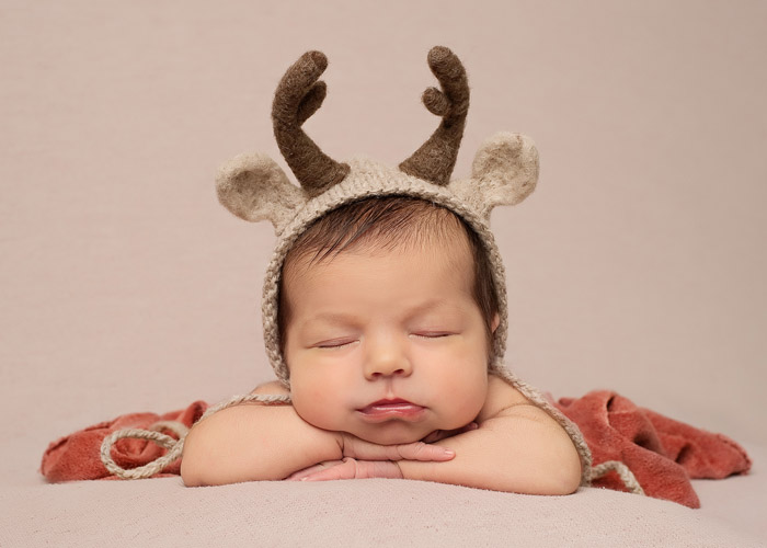 christmas winter baby photos