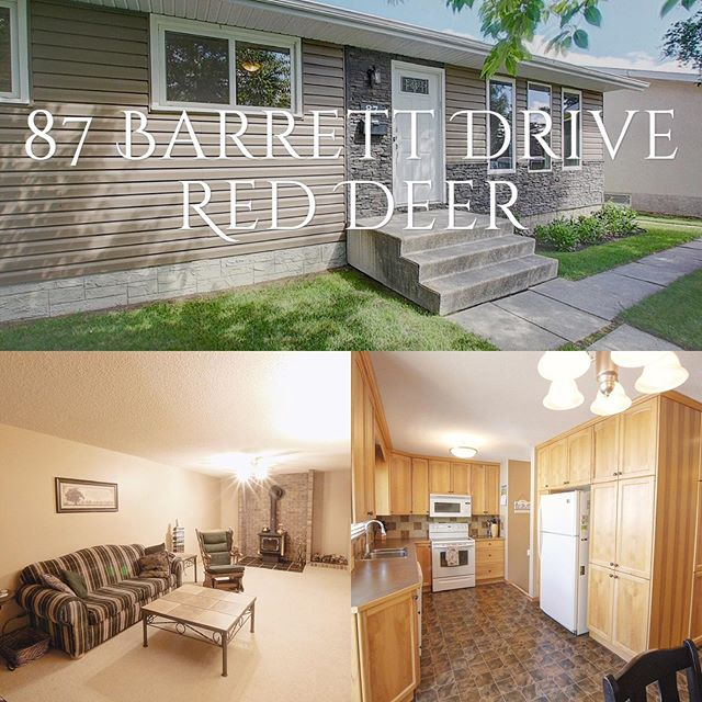 Another great listing in Red Deer! Check it out.... link in bio 😎