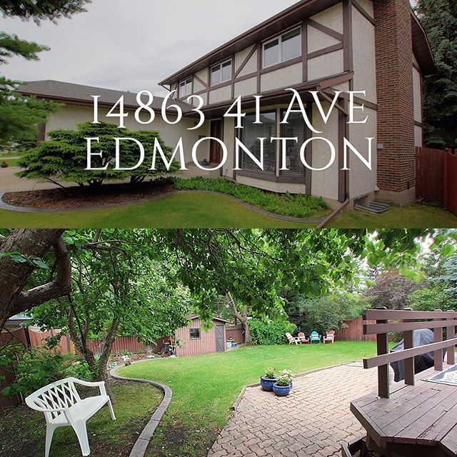 Wonderful well kept home in Riverbend in Edmonton! Contact Jasmin for all the details 😃. Link in bio