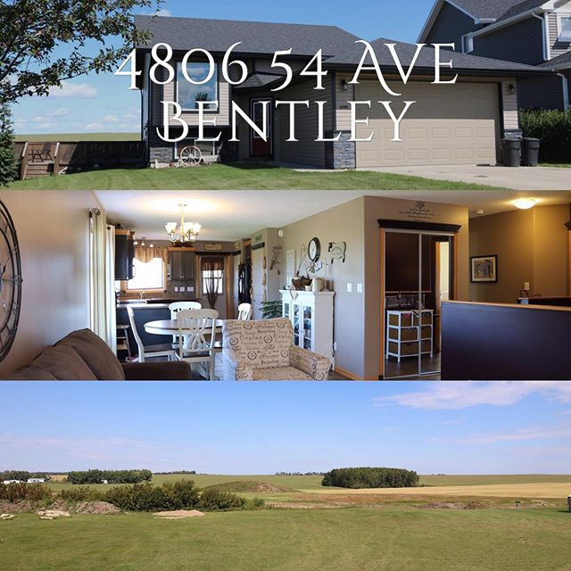 New listing in Bentley!! Perfect family home ... across from school playground and a quick walk to the arena 👌🏾. Check out link in bio.