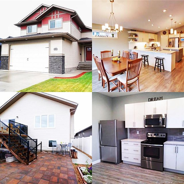 Wow! Amazing home in Red Deer with a legal suite. This opportunity doesn't happen often! Check it out- contact Jasmin for the details 😉 @jasminhowellrealty  Link in bio.