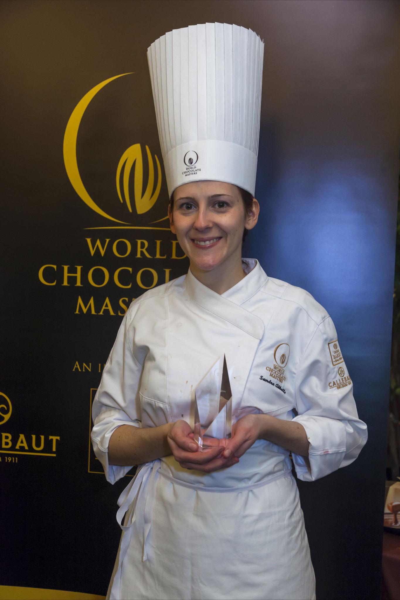 Sandra, Winner of Best Molded Bon Bon