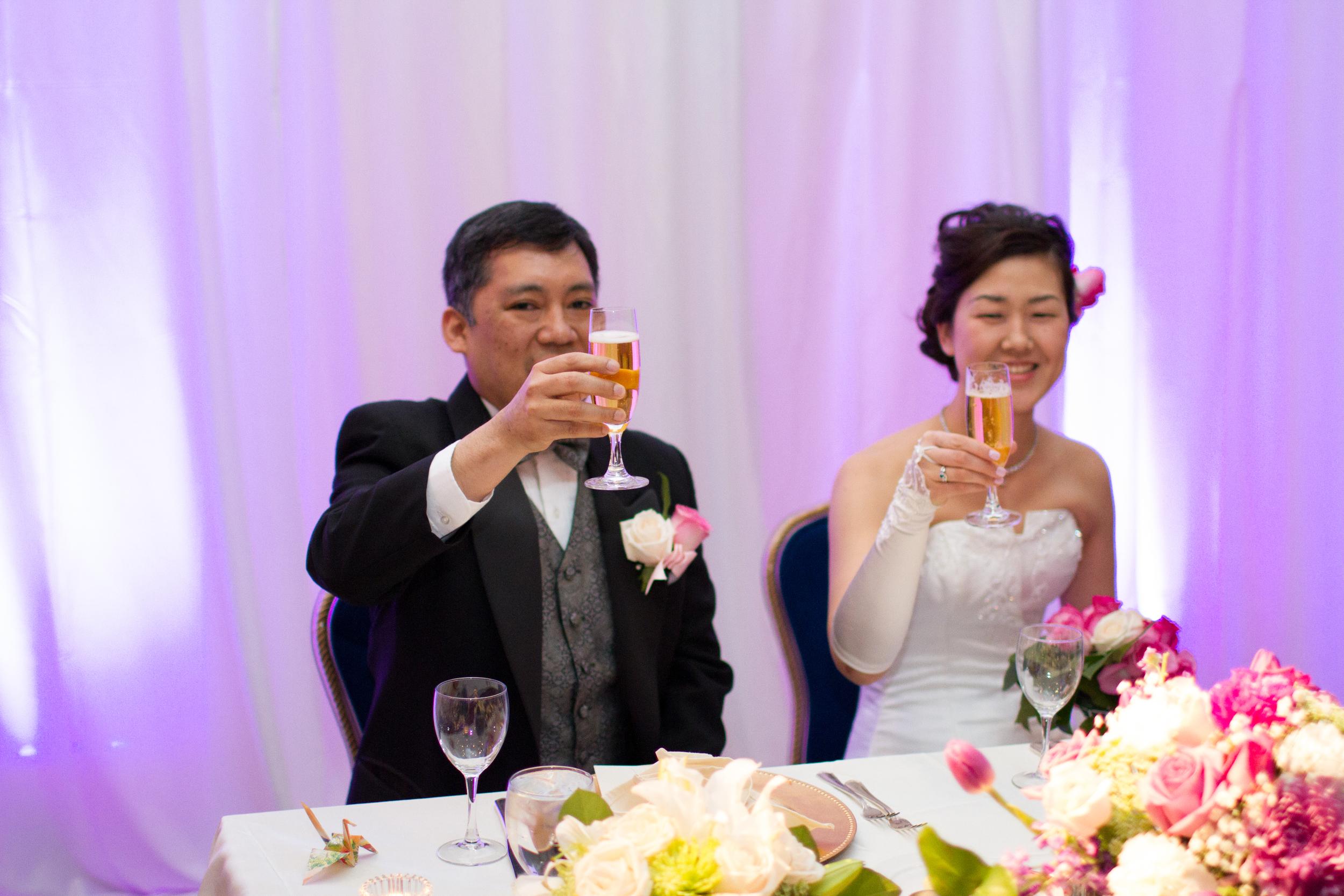 Washington Marriott Georgetown wedding reception