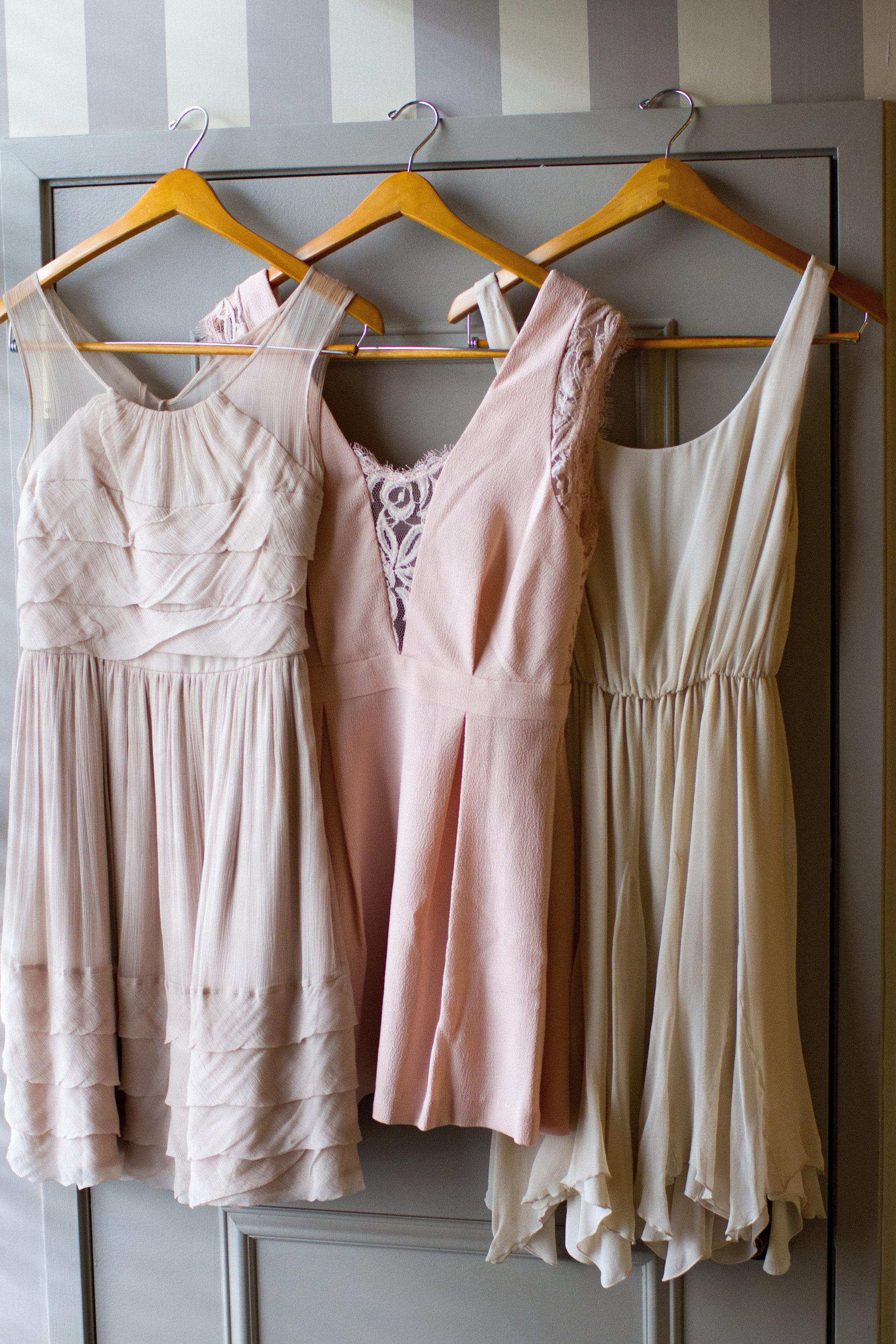 Pastel-bridesmaid-dresses