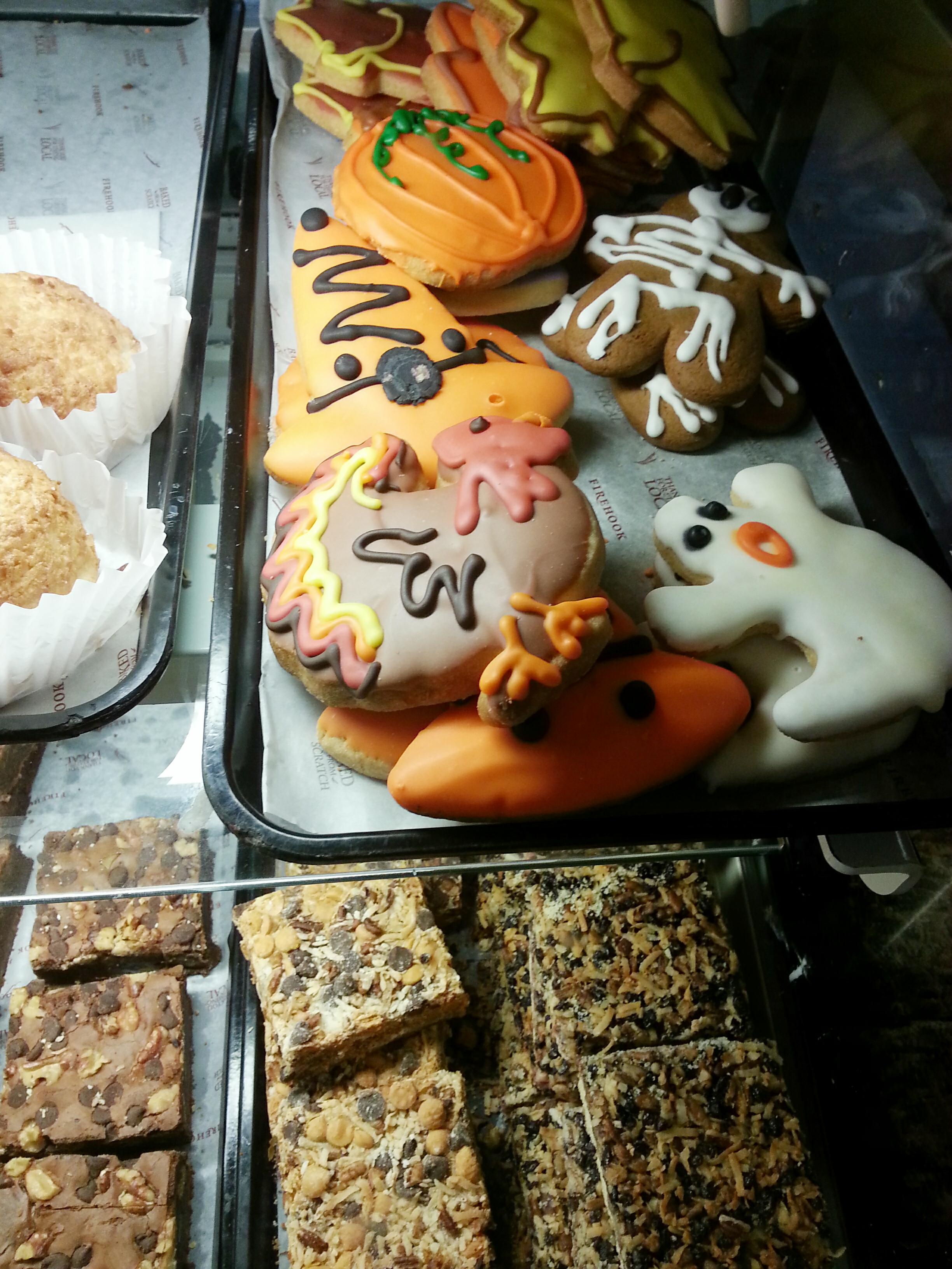Fall cookie display