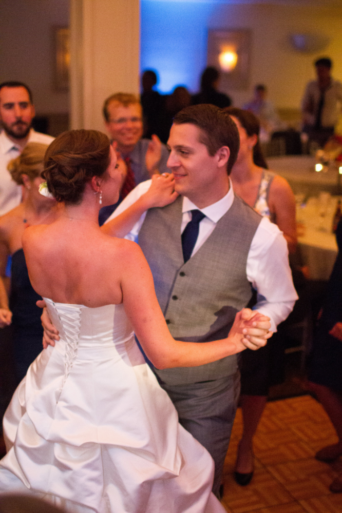 Bride and groom dance | Bull Run Golf  Club wedding