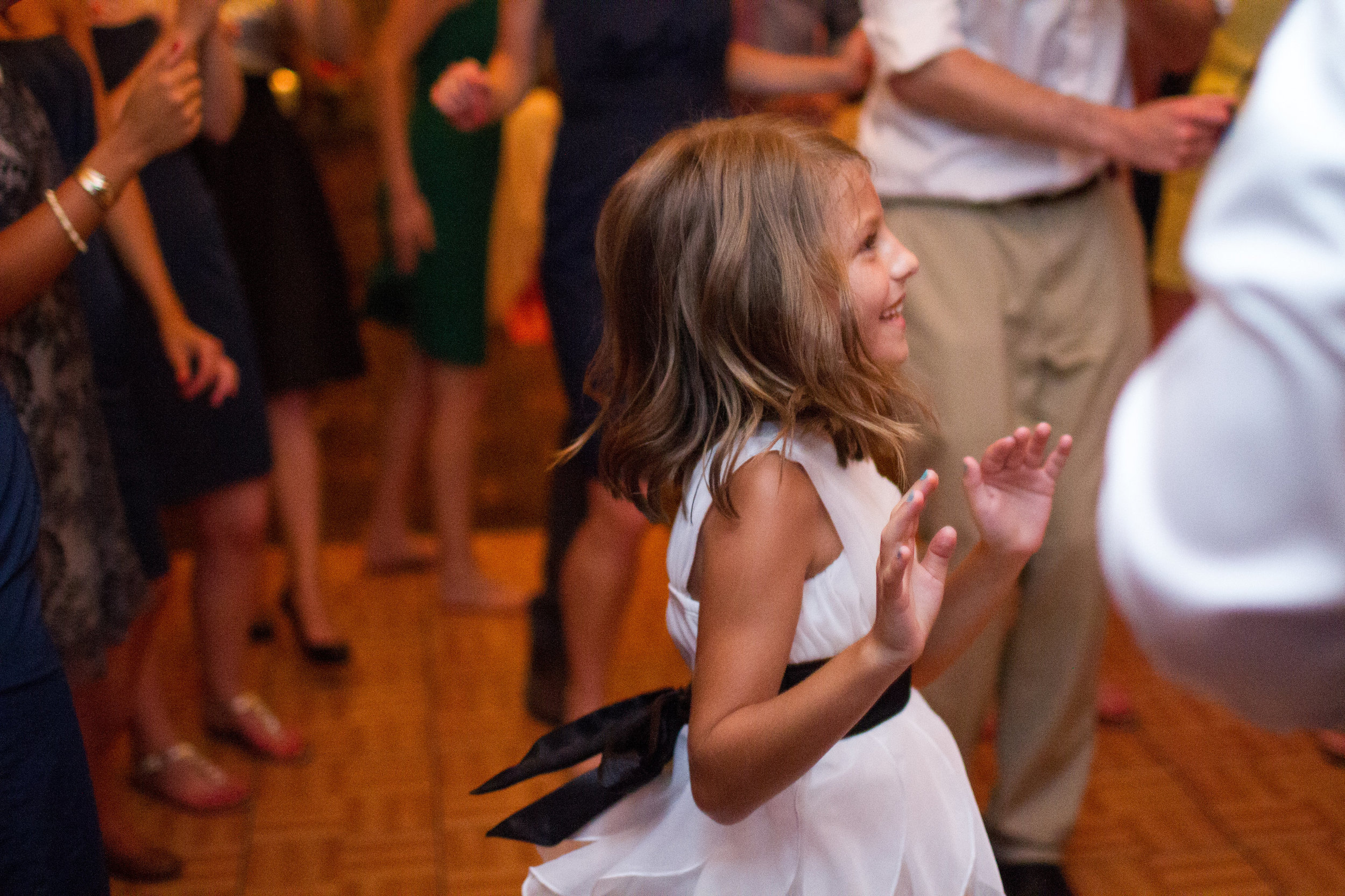 Guest reception dancing | Bull Run Golf Club