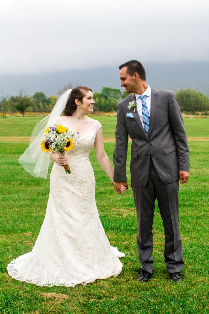Luray barn wedding