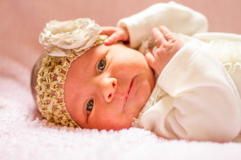 Cincinnati newborn portrait session