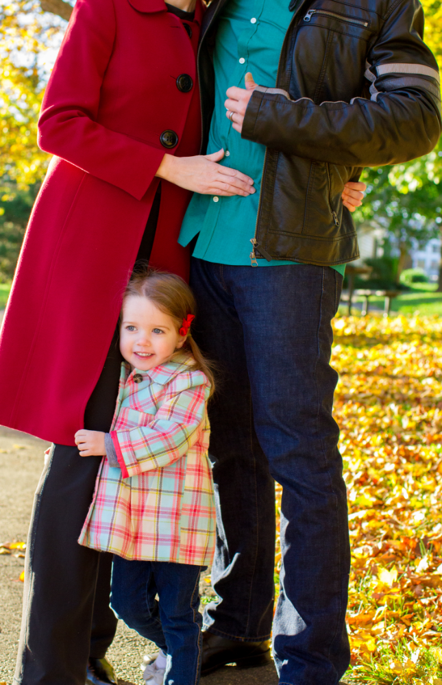 Fall portraits in Falls Church Virginia