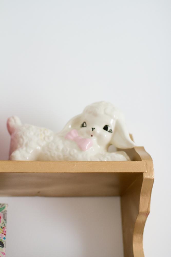 Vintage baby nursery | Lorin Marie Photography