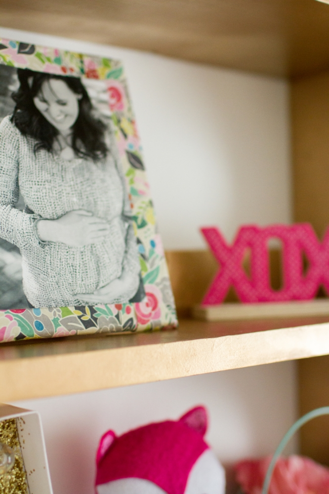 Nursery shelf | Lorin Marie Photography