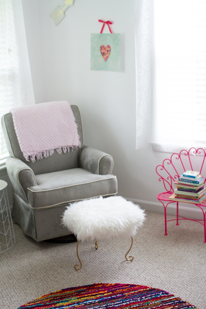 Sparkly girl nursery inspiration | Lorin Marie Photography