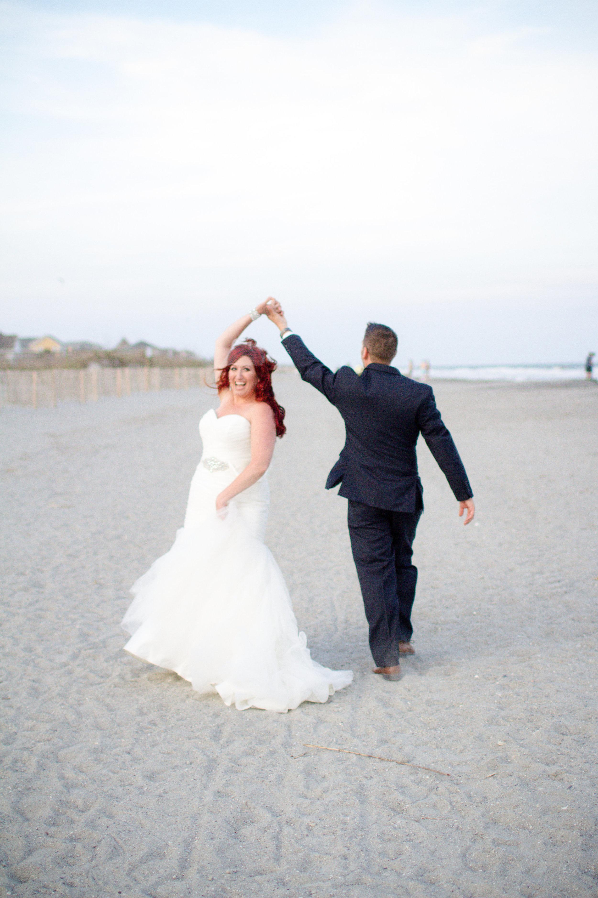 Folly Beach wedding | Lorin Marie Photography