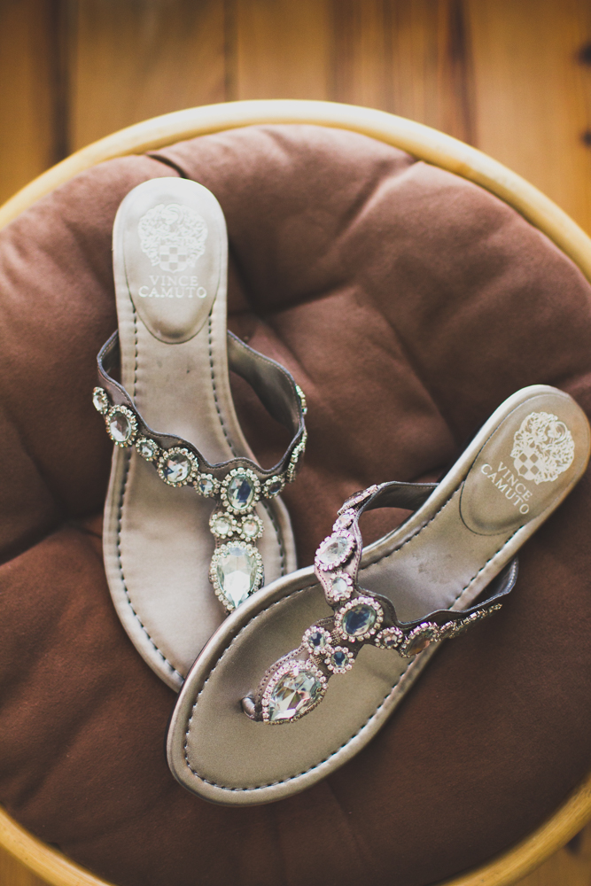 Vince Camuto wedding sandals